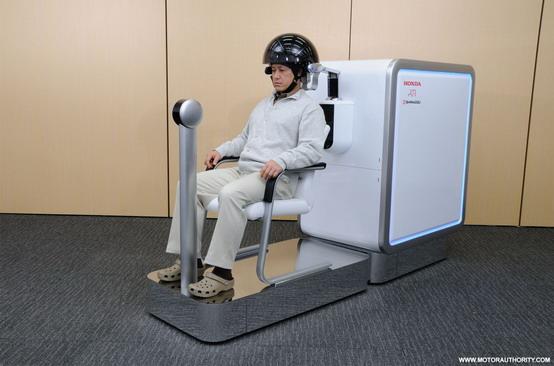 Toyota e il futuro una sedia a rotelle comandata dalla mente for Sedia a rotelle tuning