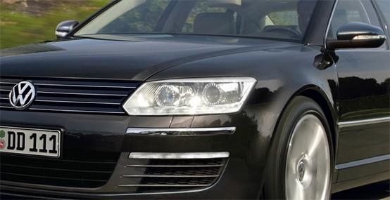 Anteprima della Volkswagen Phaeton 2011