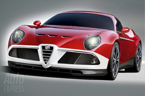 Arriva la nuova Alfa Romeo 8C GTA