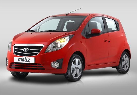 Nuova Chevrolet Matiz Creative: le foto con marchio Daewoo