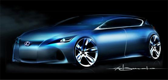 Lexus Premium Compact: prima anticipazione in vista di Francoforte