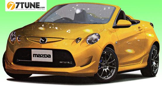 Mazda prepara una piccola roadster a trazione posteriore