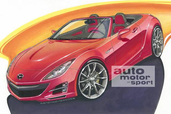 Nuova Mazda Mx-5: sarà così?
