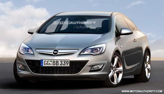 Opel Astra Sport Coupé: prima foto digitalizzata