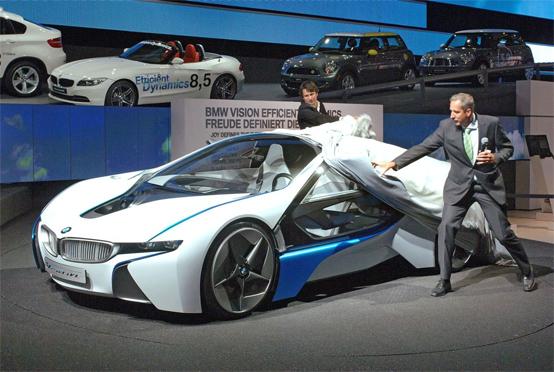 BMW Vision EfficientDynamics Concept: svelata alla vigilia del Salone di Francoforte