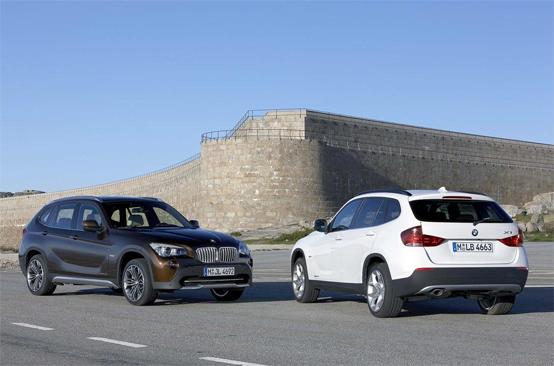 BMW X1: nuovo video su strada