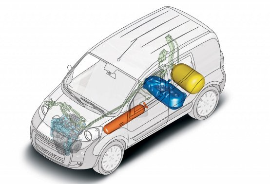 """Fiorino Metano completa la gamma """"ecologica"""" di Fiat Professional"""
