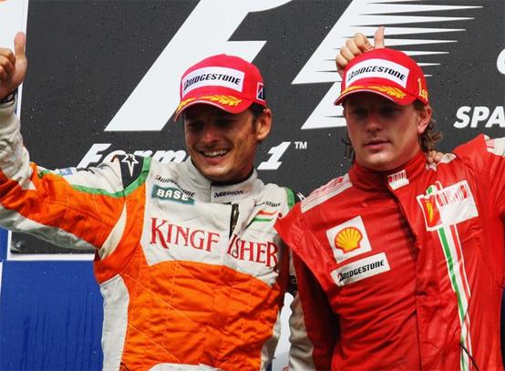 Ferrari: Fisichella al posto di Badoer a Monza