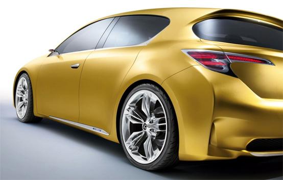 Lexus LF-Ch: anteprima della compatta Lexus