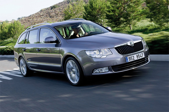 Skoda Superb Wagon