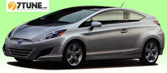 Aggiornamento sulla Coupé ispirata alla Toyota Prius