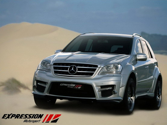 Expression Motorsport Mercedes ML 63 AMG