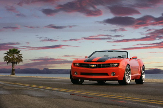 Chevrolet Camaro Convertibile confermata per il 2011