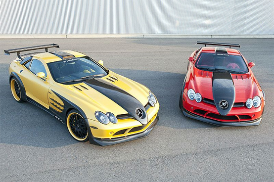 Hamann Volcano Red & Yellow Editions