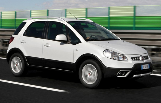 Nuovo Fiat Sedici