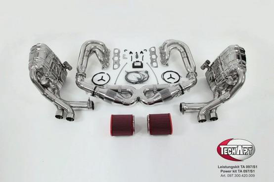 TechArt rilascia un nuovo Performance Kit per la Porsche 997 S e 997 4S