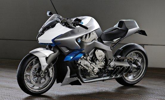 EICMA 2009. BMW Motorrad Concept 6