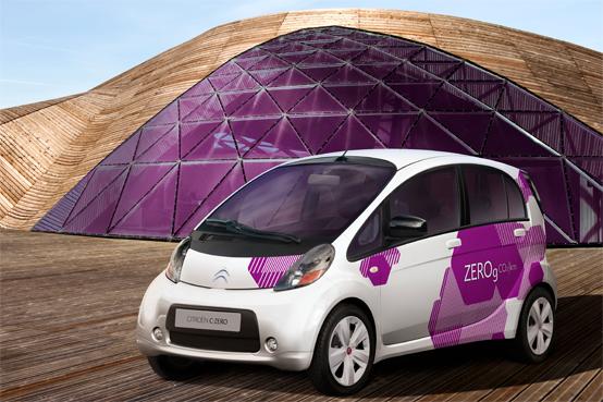 Citroen C-Zero: l'auto elettrica secondo Citroen