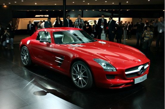 In arrivo la Mercedes SLS AMG Black Series