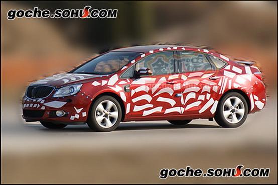 """Dalla Cina arriva una nuova foto della Buick """"Premium"""" Compact Sedan"""