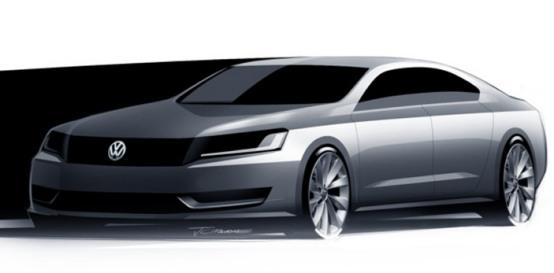 Volkswagen: la berlina per gli USA sarà ibrida