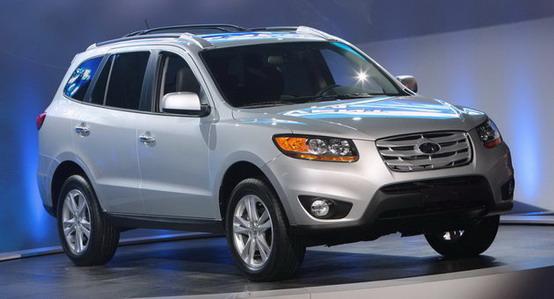Detroit 2010: rombanti novità per la Hyundai Santa Fe