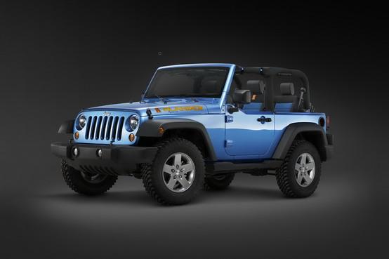 Detroit 2010: debutto per la Jeep Wrangler Islander e Mountain