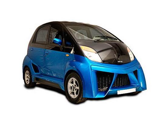 DC Design presenta la Tata Nano di lusso: prezzo 220.000 $!