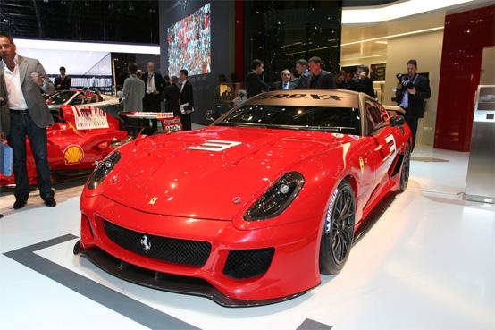 Ferrari 599 GTO: una Rossa da 700 cavalli