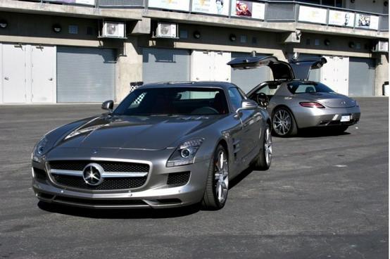 Mercedes sta preparando una nuova sportiva basata sulla piattaforma della SLS AMG