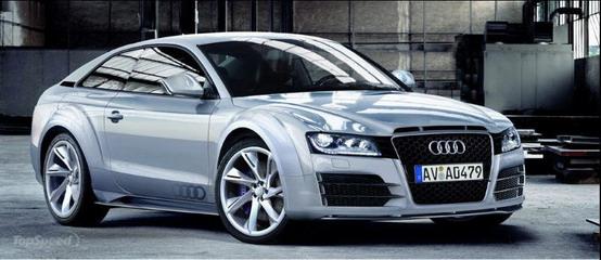 Rendering: il grande ritorno dell'Audi Ur-Quattro