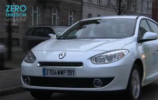 Renault: le elettriche Fluence Z.E e Kangoo Express Z.E a Copenaghen