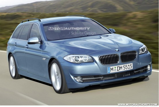 Rendering BMW Serie-5 Touring 2011