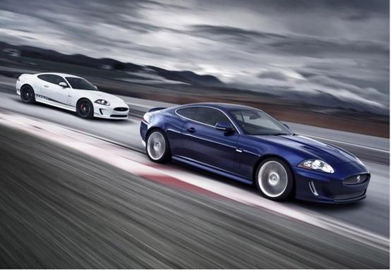 Presentazione della Jaguar XKR, la più veloce di sempre della sua gamma