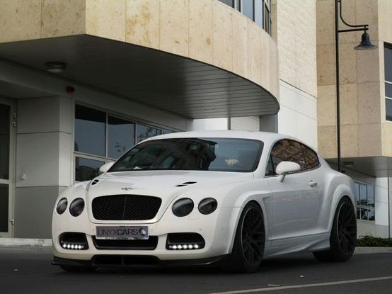Bentley Continental GT: nuovo pacchetto tuning da Onyx Concept