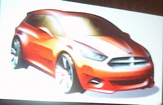 Dodge: prime indiscrezioni sulla nuova segmento B