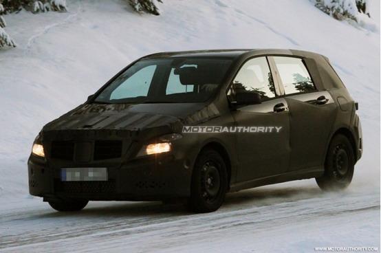 Mercedes Classe B: in cantiere una versione AMG ad alte prestazioni