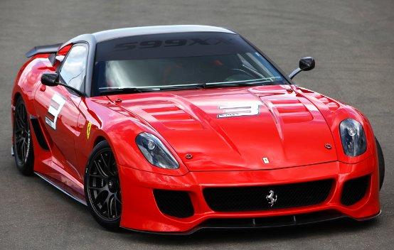 La Ferrari 599XX conquista la stampa internazionale
