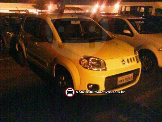 Fiat Uno 2011: arrivata la prima immagine dal Brasile?