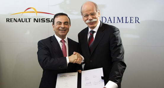 Daimler e Renault-Nissan hanno stretto il nodo: che alleanza sia!