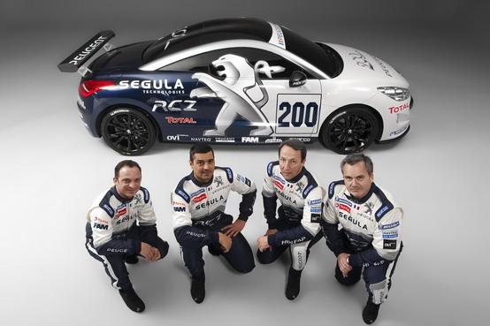 Nürburgring: Peugeot correrà la 24 Ore con una RCZ Coupé diesel