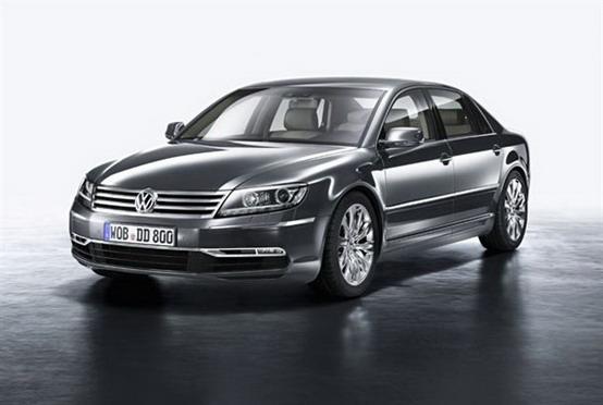 Volkswagen Phaeton, presentazione ufficiale prima del salone di Pechino