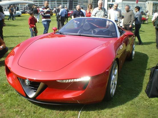 Alfa Romeo 2ettottanta a Villa d\'Este