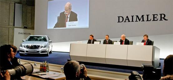 Daimler, Renault, Nissan: c'è l'accordo per la partnership