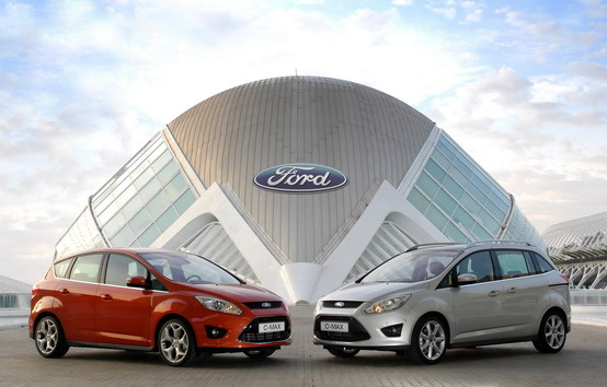 Ford C-Max elettrica in Europa entro il 2013