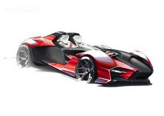 Ducati: sognando un'auto sportiva rosso fuoco
