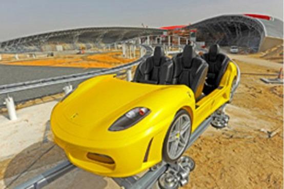Ferrari World: le montagne russe più veloci del mondo