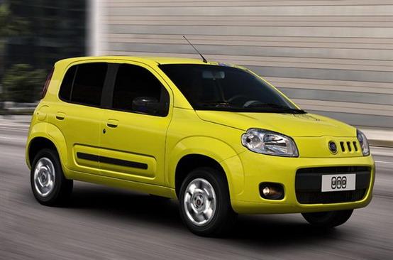 Fiat Uno in Europa a partire dal 2011