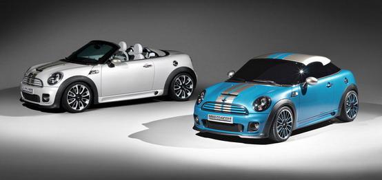 Mini Roadster e Coupé, arrivano nuovi dettagli per il 2011