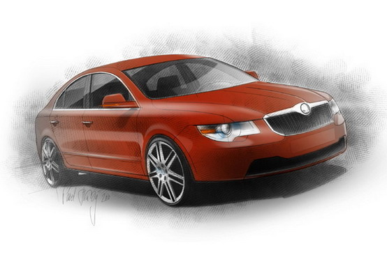 Skoda Superb Fastback Project